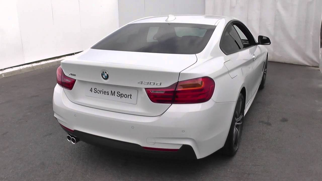 bmw 4 series 430d xdrive m sport 2dr auto u13787 youtube. Black Bedroom Furniture Sets. Home Design Ideas