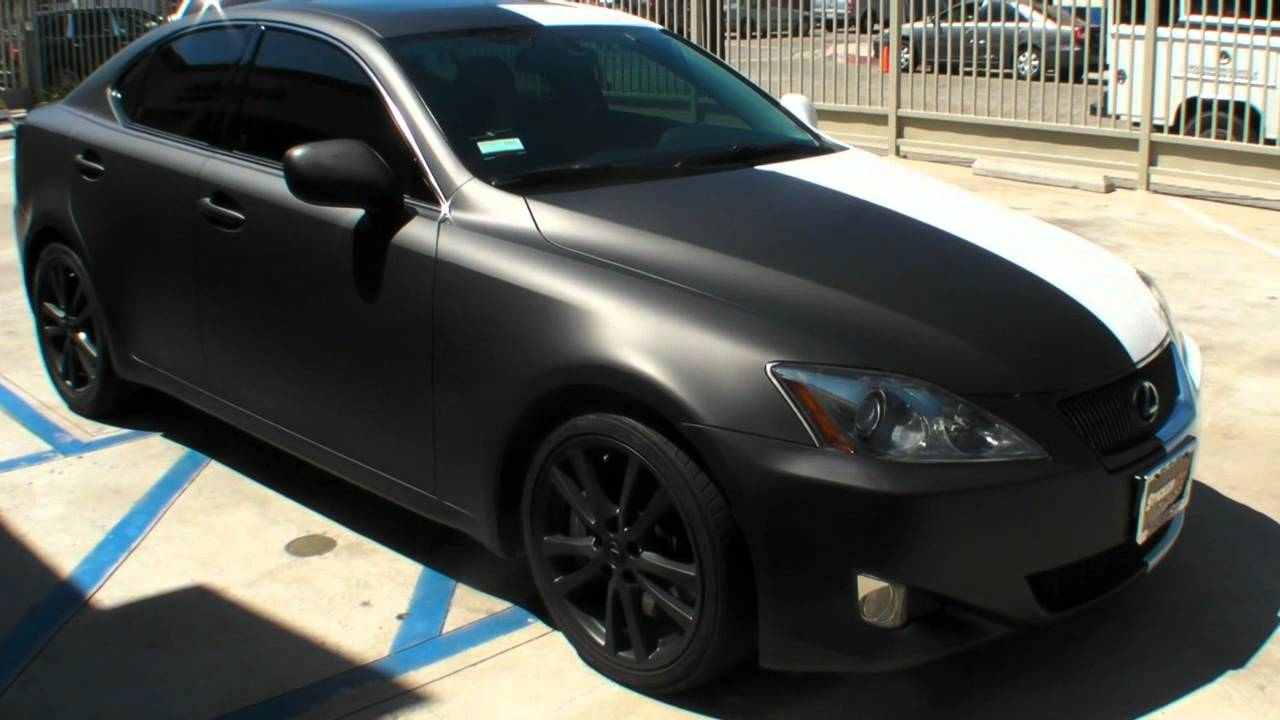 Two Face Lexus IS Car Wrap By Sticker City YouTube - Lexus custom vinyl decals for car