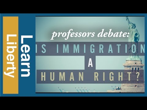 Full Debate: Is Immigration a Human Right?