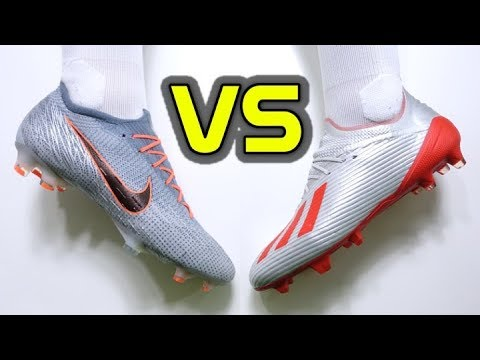 WHICH ONE IS THE BEST SPEED BOOT? - NIKE MERCURIAL VAPOR 12 ELITE Vs ADIDAS X 19.1
