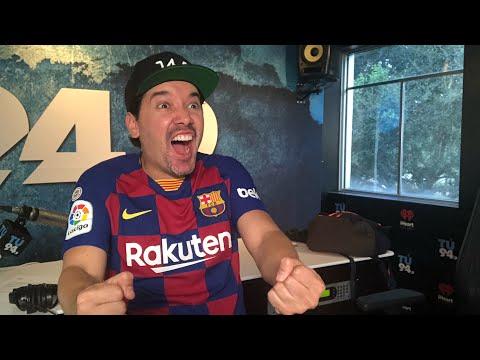 Barcelona 2 - Inter 1. Reacción EMOCIÓN. Dos goles de Luis Suárez.
