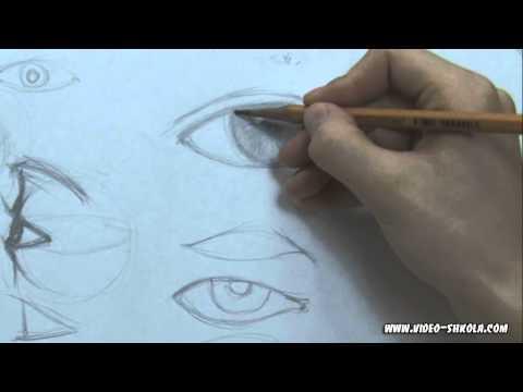 учимся рисовать карандашом видео уроки: