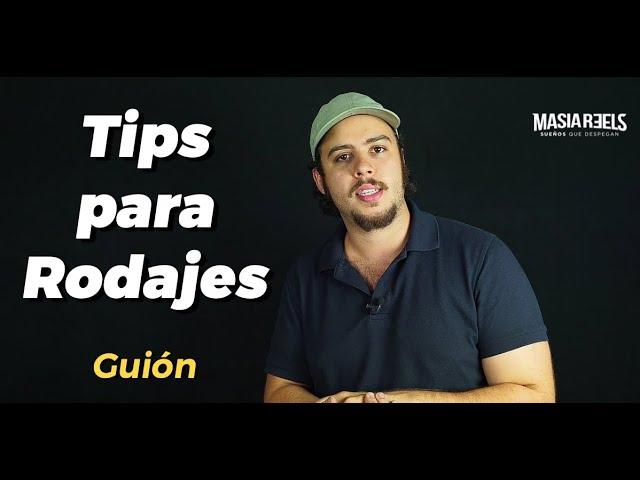 RUEDA GRATIS TU VIDEOBOOK - tips de Guión