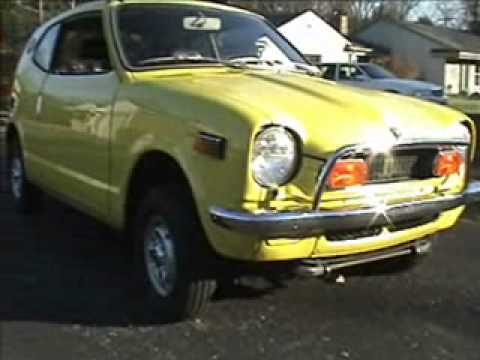 1972 Honda Z600 Coupe For Sale - YouTube