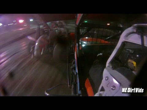 Dan Douville In-Car Flip - SCoNE | Bear Ridge Speedway 9 17 2016