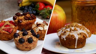 Delightful Fruit Muffins • Tasty Recipes
