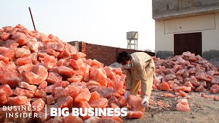 How 800 Million Pounds of Himalayan Salt Are Mined Each Year | Big Business
