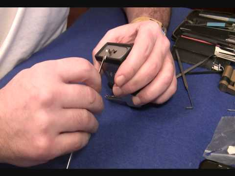 Взлом отмычками CISA 280/55    CISA™ 280/55 Hi Sec. padlock (spp