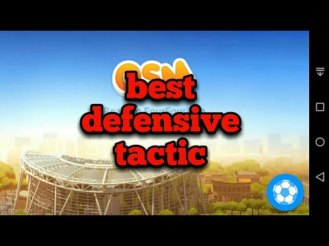 Best osm defensive tactic   build a wall around your goalkeeper