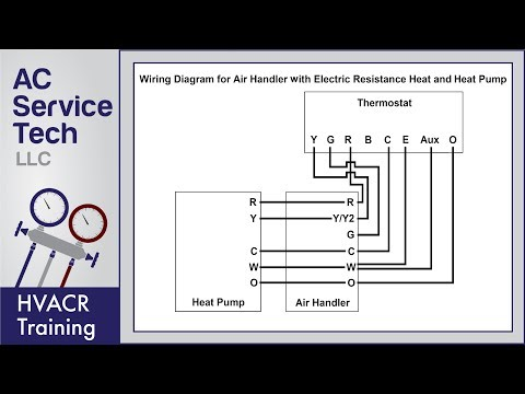 Thermostat Wiring Diagrams! 10 Most Common! - YouTube on