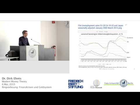 Modern Money Theory, Mississippi Bubble/John Law - Prof. Dirk Ehnts @ FU Berlin, 06.05.2015
