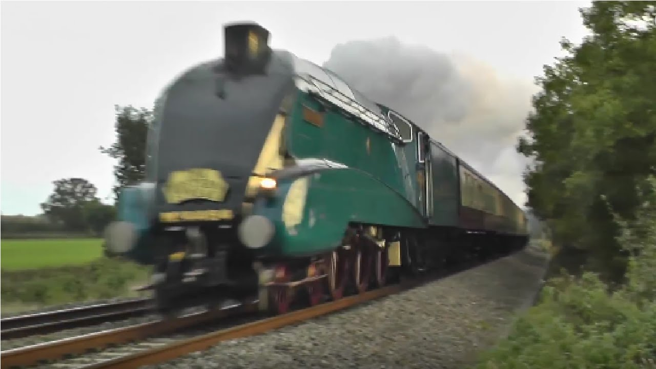steam locomotives at speed youtube