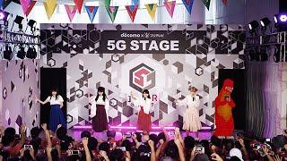 TIF2017「NTTドコモ×フジテレビ 5Gステージ」8月4日のステージに出演し...