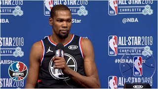 Kevin Durant will keep trying to rack up accolades after All-Star Game MVP | NBA All-Star 2019