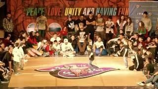 Baby Battle Final | Dance To Be Free 2015 (Невероятные дети)