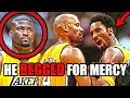 This NBA Star TRASH TALKED Kobe Bryant And BEGGED For Mercy