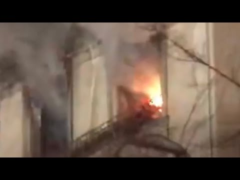 FDNY BOX 974 - FDNY OPERATING AT 2ND ALARM FIRE IN PRIVATE MANSION ON 5TH AVE. ON UPPER EAST SIDE.