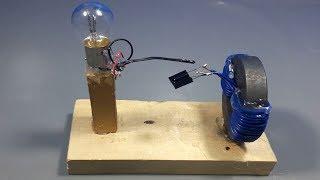 Make 100% wireless free energy device for electricity with magnet _ science experiment