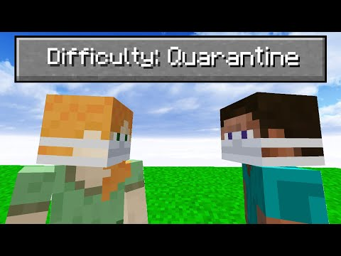 """So I added a """"Quarantine"""" difficulty to minecraft..."""