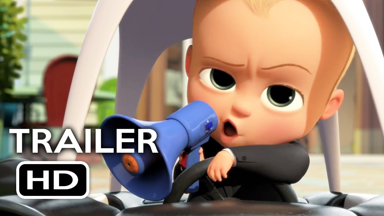 The Boss Baby Official Trailer 2 2017 Alec Baldwin Miegames
