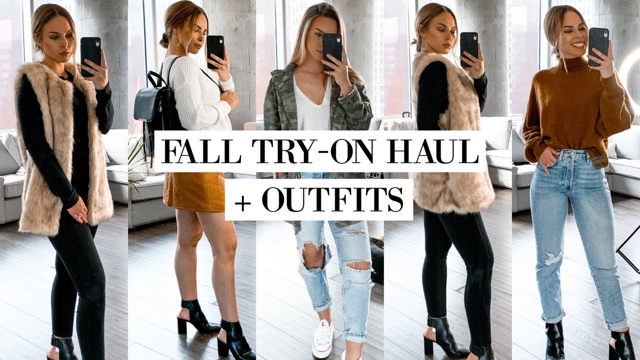 [VIDEO] - AFFORDABLE FALL TRY ON HAUL + OUTFIT IDEAS 2019| Katie Critchley 1