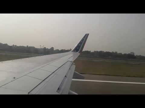 US Bangla Airlines Takeoff from Dhaka Airport