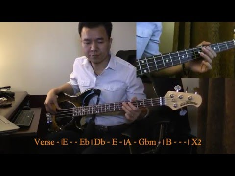 Myanmar Praise & Worship - Ma Shih Ma Phyit Jesus-Bass Cover