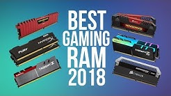 BEST RAM FOR GAMING 2018 | TOP DDR3 & DDR4 BEST PC GAMING RAM 2018