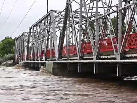 Floods in Calgary Alberta, Canada 2013 22 june