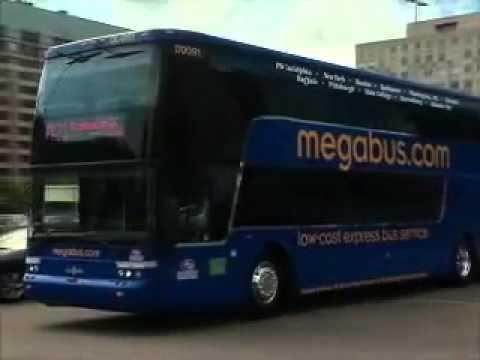 Mega Bus Express Bus Service Across USA