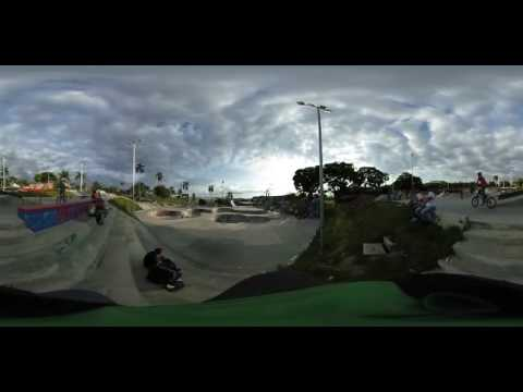SKATEPARK GIGANTE COLOMBIA PEREIRA VIDEO 360 BIGGEST LATIN AMERICA SKATEPARK GEANT COLOMBIE