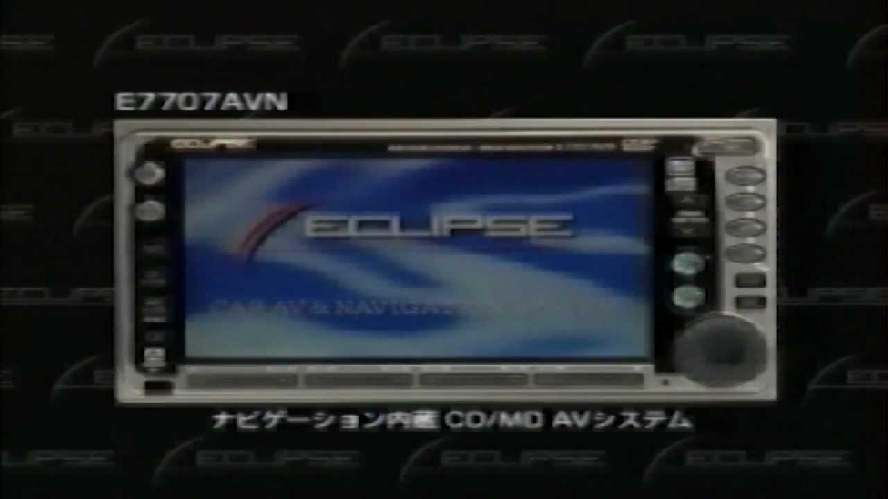 U00a91997 Fujitsu-ten Eclipse Avn