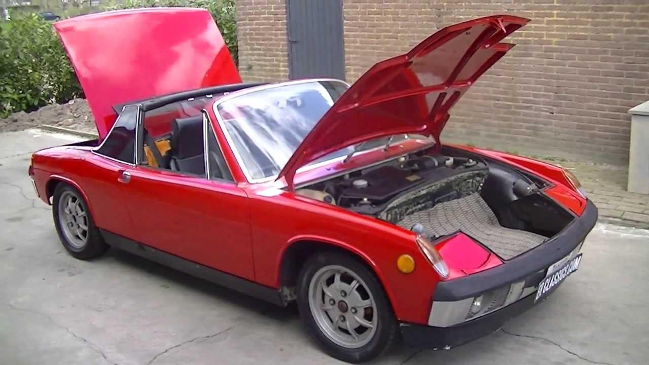 Porsche 914 1.7 1973 california import-VIDEO- www.ERclics.com ...