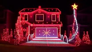 Repeat youtube video Christmas Lights at Station Drive - 2015