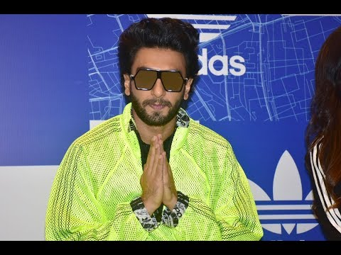 Ranveer Singh Rocking At The Launch of Adidas Originals OFDD Store In India | Bollywood News 2017