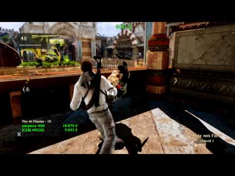 Uncharted 3 - How To Keep Your Cool With Annoying Player