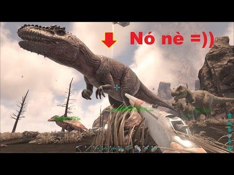 ARK: The Center #11 - Lấy được tế phẩm thứ 2 và bắt được khủng long Giganotosaurus =))