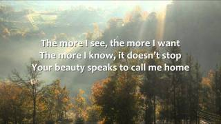 Brandon Heath - Now More than Ever - Lyrics