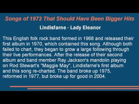Songs of 1972 That Should Have Been Bigger Hits