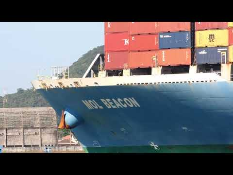 MOL BEACON PORT OF SANTOS SHIPSPOTTING AUGUST 2020 #25