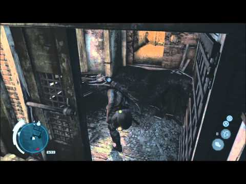 Boston Underground Tunnels Map - 10/10 Fast Travel Stations - Assassin's Creed 3