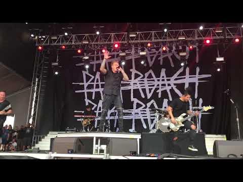 Papa Roach American Dreams live at RiverCity RockFest May 27, 2017