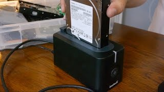 Inateck's external hard drive dock