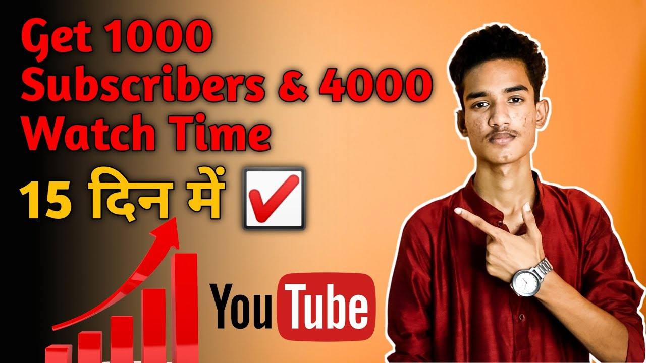 How To Get 1000 Subscribers & 4000 Watch Time On YouTube || How To Grow On YouTube 2020(Hindi)