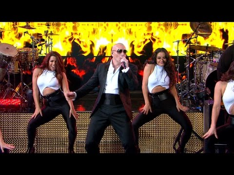 Pitbull Brings the Heat With 'Fireball'