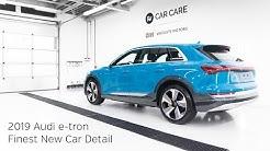 High End Detailing 2019 Audi e-tron Finest New Car Detail