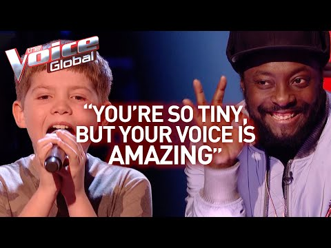 12-Year-Old AMAZES the coaches with his BIG voice in The Voice Kids   Journey
