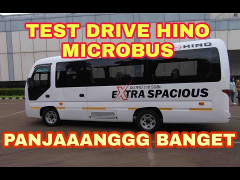 Test Drive Bus Hino Jetbus Jumbo   Bang Koboi
