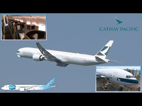 CATHAY PACIFIC BOEING 777-300ER: AIRCRAFT and CABIN REVIEW