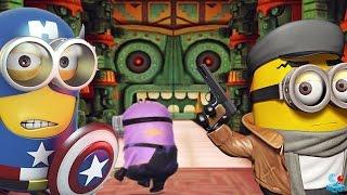 Despicable Me 2: Minion Rush El Macho's Lair Temple Run Evil Minion Battle Boss